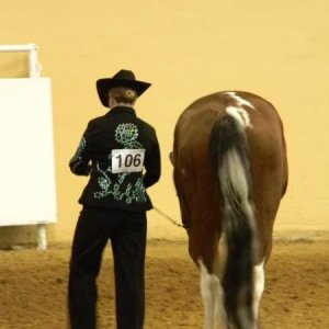 Waiting for Halter and Showmanship - Horse O-Rama 2010.