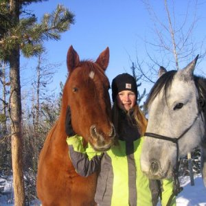 my and my horses!