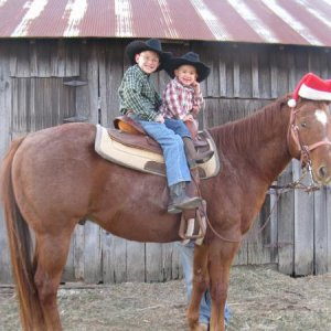 My boy's on Zan this is our christmas card!