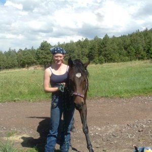 me and my boy Dallas Star, This was taken about 5 years ago.